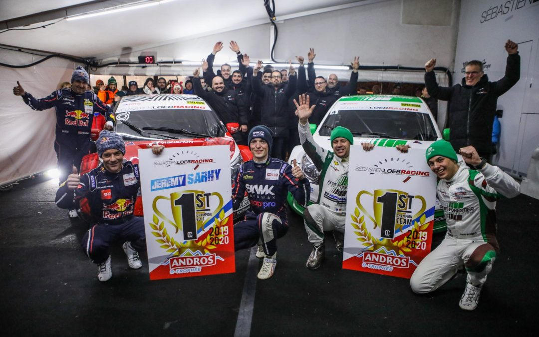 Champion e-Trophée Andros Elite